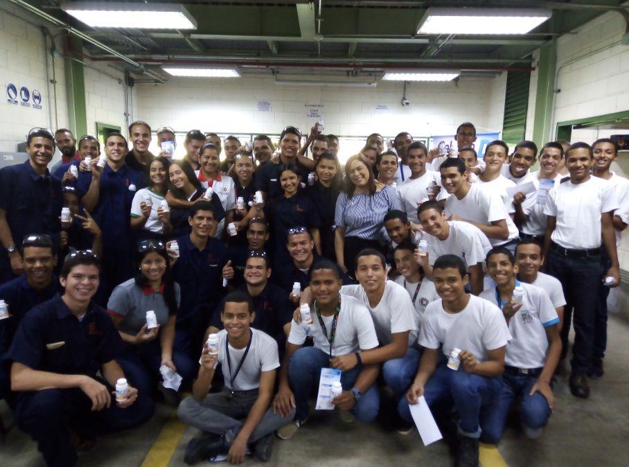 Nuestra Huella Educativa impactó al Instituto Venezolano Suizo Henri Pittier en Maracay