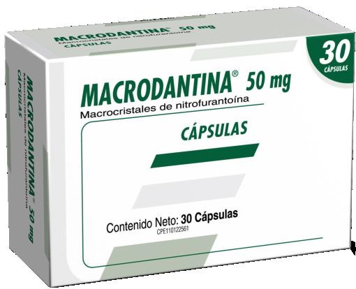 Macrodantina Laboratorios Farma