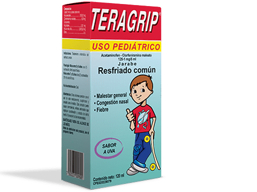 Teragrip® Pediátrico